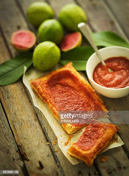 guava dessert - guava fruit stock photos and pictures