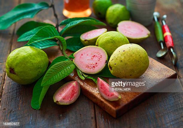 guava fruits - guava fruit stock photos and pictures