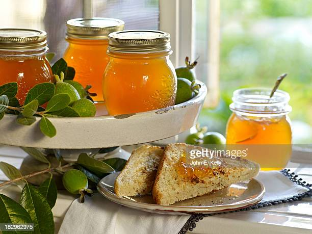 Guava Jelly with Toast