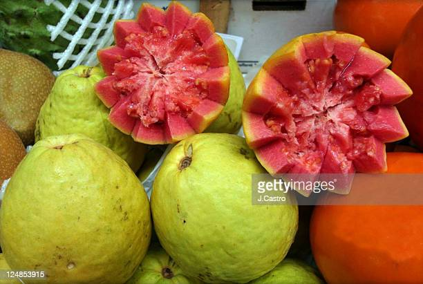 guava - guava fruit stock photos and pictures