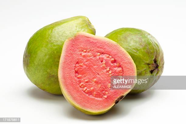 guava - tropical fruit stock pictures, royalty-free photos & images
