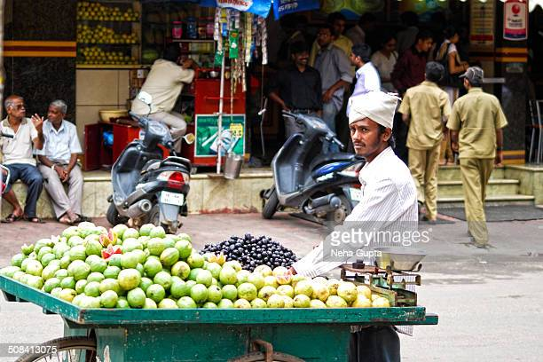 CONTENT] A guava seller on the streets of Bangalore