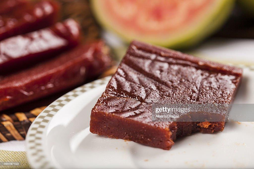 Goiaba doce, Goiabada : Foto de stock