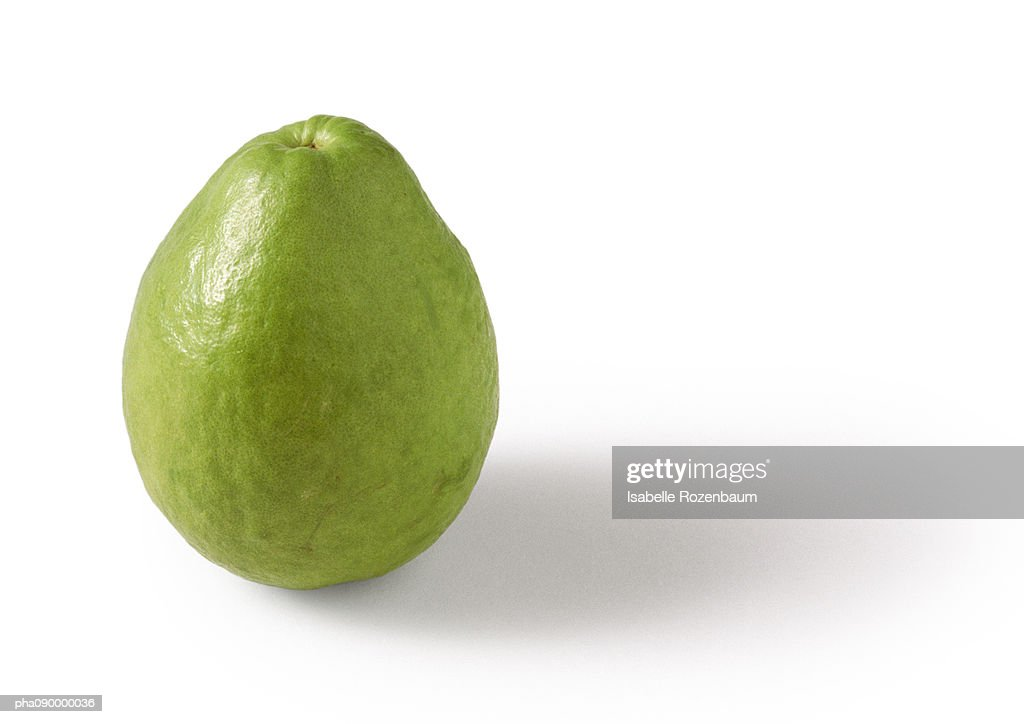 Guava, white background : Stockfoto