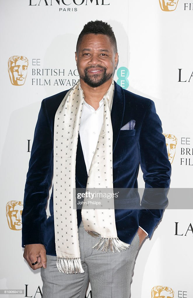 Guba Gooding Jr attends the Lancome BAFTA nominees party at Kensington Palace on February 13, 2016 in London, England.