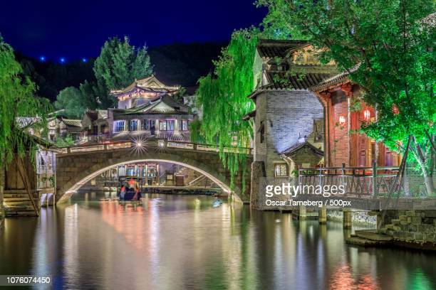 Gubei Water Town at Night