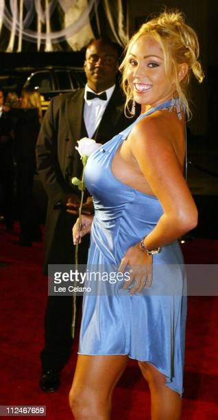 Guberbatorial candidate Mary Carey during 55th Annual Primetime Emmy Awards TV Guide 2003 Emmy Party at The Lot Studios in Hollywood California...