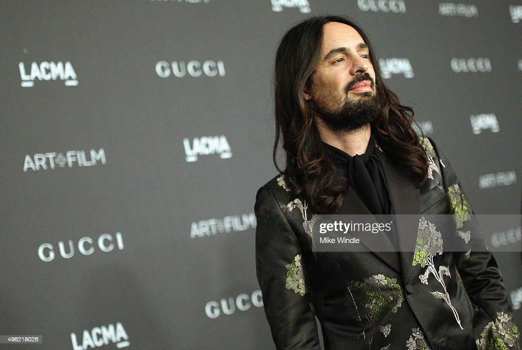 LACMA 2015 Art+Film Gala Honoring James Turrell And Alejandro G Iñárritu, Presented By Gucci - Red Carpet : News Photo