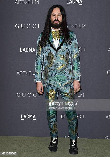 Gucci Creative Director Alessandro Michele attends the 2016 LACMA Art Film Gala honoring Robert Irwin and Kathryn Bigelow presented by Gucci at LACMA...
