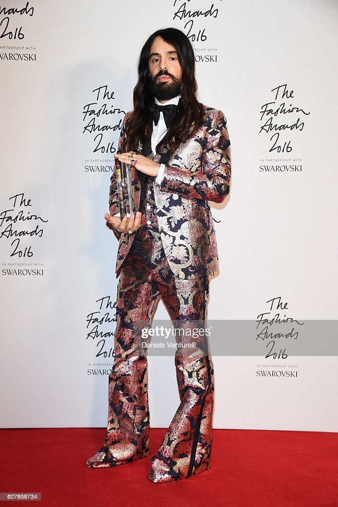 Gucci At The Fashion Awards 2016 : News Photo