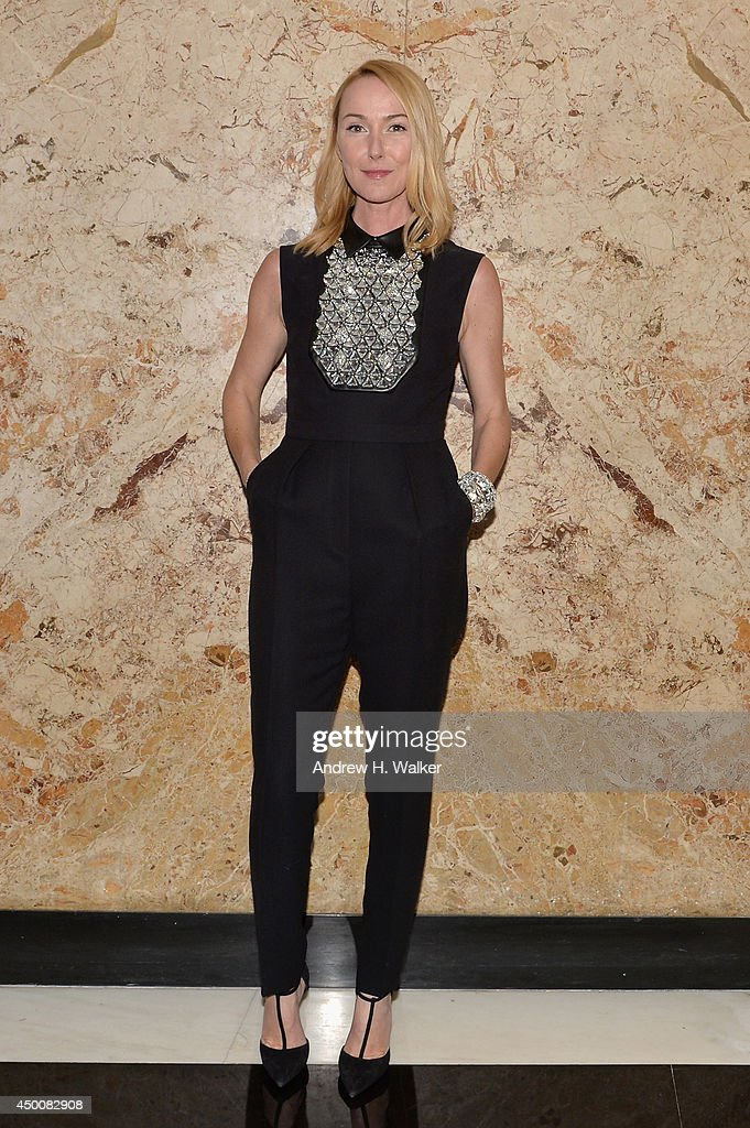 Gucci Creative Director Frida Giannini attends the Gucci beauty launch event hosted by Frida Giannini on June 4, 2014 in New York City.