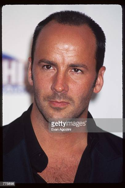 Gucci designer Tom Ford attends the VH-1 Fashion Awards ceremony October 24, 1996 in New York City. VH-1 recognized the latest trends to emerge from...