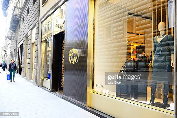 gucci houte couture window display - gucci dress stock pictures, royalty-free photos & images