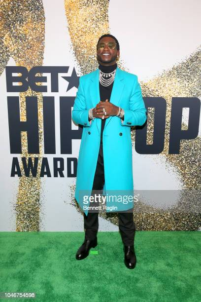 Gucci Mane arrives at the BET Hip Hop Awards 2018 at Fillmore Miami Beach on October 6 2018 in Miami Beach Florida