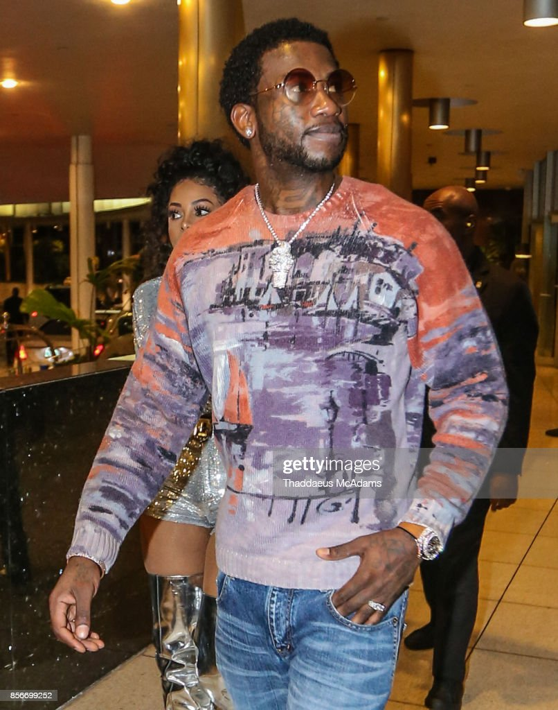 Gucci Mane at LIV nightclub at Fontainebleau Miami on October 1, 2017 in Miami Beach, Florida.