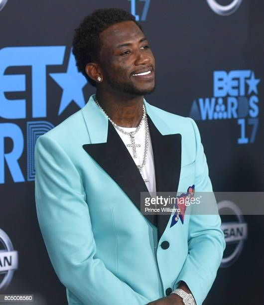Gucci Mane attends the 2017 BET Awards at Microsoft Theater on June 25 2017 in Los Angeles California
