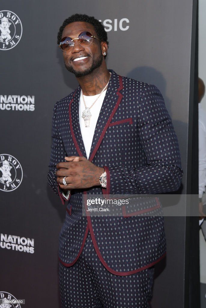 Gucci Mane attends the Los Angeles Premiere Of 'Can't Stop Won't Stop' at Writers Guild of America, West on June 21, 2017 in Los Angeles, California.
