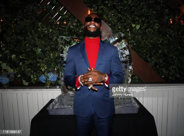 Gucci Mane attends WOPTOBER II Album Celebration Dinner at CATCH Steak on October 16 2019 in New York City