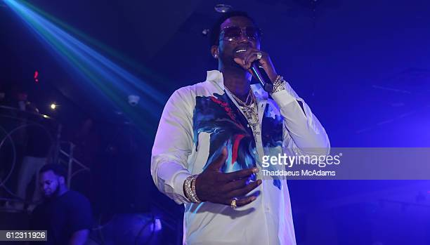 Gucci Mane performs at Cafe Iguana Pines on October 3 2016 in Pembroke Pines Florida