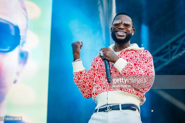 Gucci Mane performs at the Osheaga Music and Art Festival at Parc JeanDrapeau on August 02 2019 in Montreal Canada
