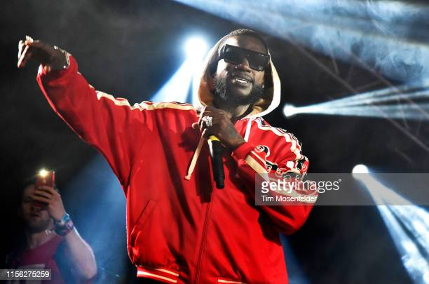 Gucci Mane performs during the 2019 Bonnaroo Music & Arts Festival on June 15, 2019 in Manchester, Tennessee.
