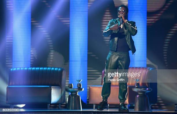 Gucci Mane performs onstage at 2017 BET Awards at Microsoft Theater on June 25 2017 in Los Angeles California