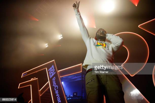 Gucci Mane performs onstage during Spotify's RapCaviar Live in Houston at Revention Music Center on December 14 2017 in Houston Texas