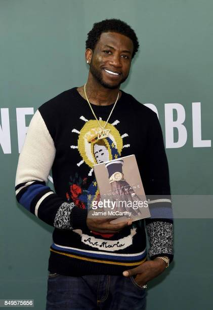 Gucci Mane signs copies of his new book The Autobiography Of Gucci Maneat Barnes Noble 5th Avenue on September 19 2017 in New York City