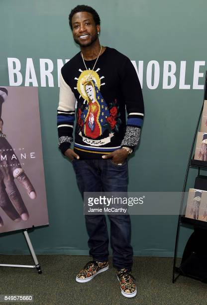 Gucci Mane signs copies of his new book 'The Autobiography Of Gucci Mane'at Barnes Noble 5th Avenue on September 19 2017 in New York City