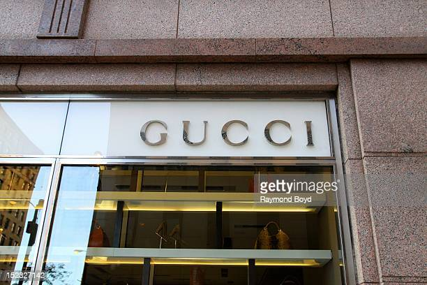 Gucci store in Chicago Illinois on SEPTEMBER 16 2012