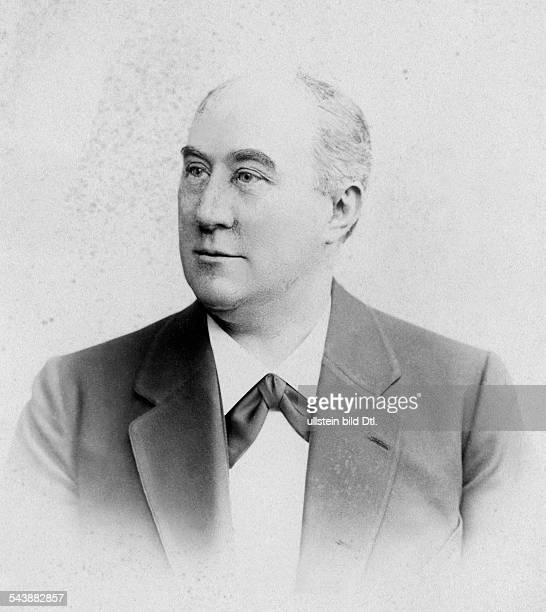 Gudehus Heinrich Opera Singer Germany*3031845 Photographer Wilhelm Hoeffert 1900Vintage property of ullstein bild