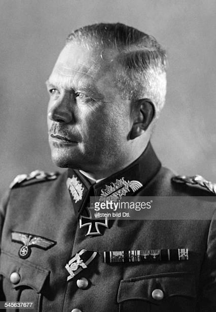 Guderian Heinz Officer General Germany*18881954Portrait Photographer Presse Illustrationen Heinrich Hoffmann undated Published in DAZ Vintage...