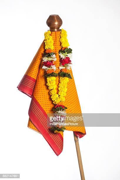 gudi padwa - gudi padwa stock pictures, royalty-free photos & images