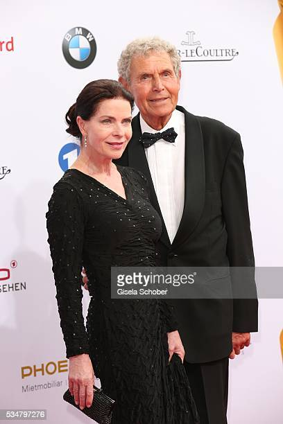 Gudrun Landgrebe and her husband Ulrich von Nathusius attend the Lola German Film Award 2016 on May 27 2016 in Berlin Germany