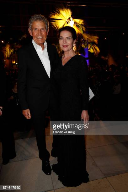 Gudrun Landgrebe and her husband Ulrich von Nathusius during the Lola German Film Award party at Messe Berlin on April 28 2017 in Berlin Germany