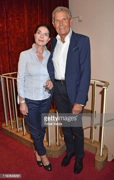 Gudrun Landgrebe and Ulrich von Nathusius attend the Goetz George Award at Astor Film Lounge on August 19 2019 in Berlin Germany
