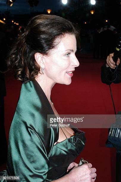 Gudrun Landgrebe ARDGala 'Deutscher Fernsehpreis 2006' 'Coloneum' Köln NordrheinWestfalen Deutschland Europa Roter Teppich Dekollete Schauspielerin...