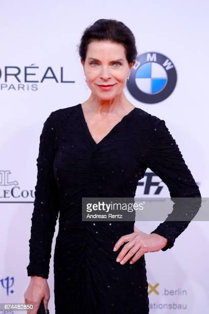 Gudrun Landgrebe attends the Lola German Film Award red carpet at Messe Berlin on April 28 2017 in Berlin Germany
