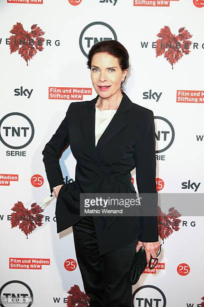 Gudrun Landgrebe attends TNT Serie's preview screening of 'Weinberg' at Residenz on September 30 2015 in Cologne Germany The miniseries premieres on...