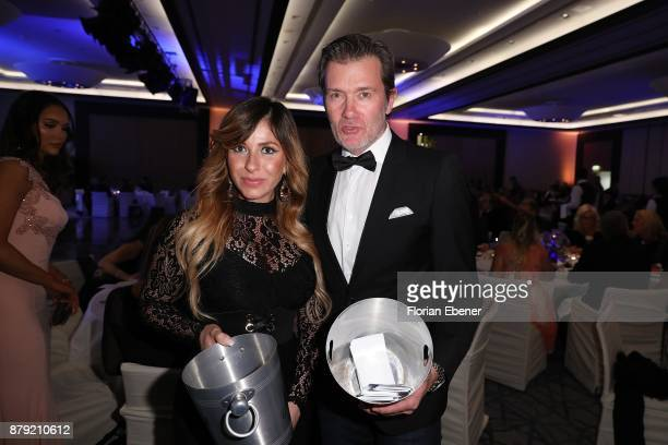 Guelcan Kamps and John Juergens attend the charity event Dolphin's Night at InterContinental Hotel on November 25 2017 in Duesseldorf Germany