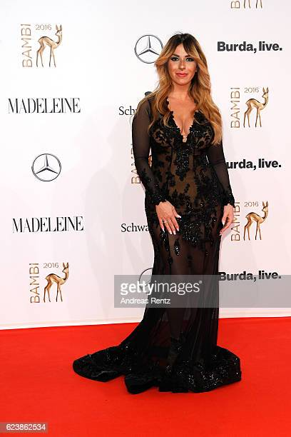 Guelcan Kamps arrives at the Bambi Awards 2016 at Stage Theater on November 17 2016 in Berlin Germany