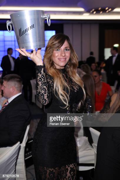 Guelcan Kamps attends the charity event Dolphin's Night at InterContinental Hotel on November 25 2017 in Duesseldorf Germany