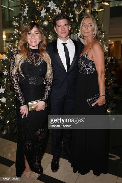 Guelcan Kamps Philipp Danne and Kirsten Kuhnert attend the charity event Dolphin's Night at InterContinental Hotel on November 25 2017 in Duesseldorf...