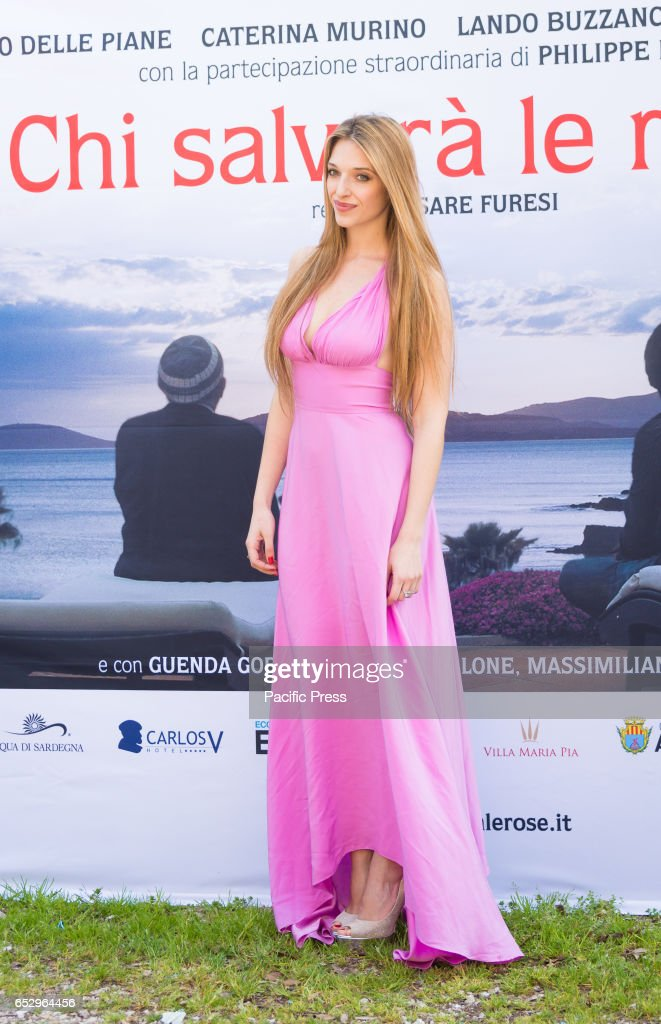 Guenda Goria attends the photocall of 'Chi Salverà le Rose ?'.