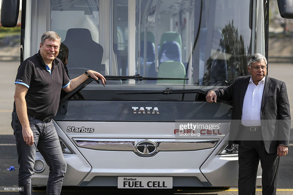 Tour Of Tata Motors Plant As They Launch Green Bus Range