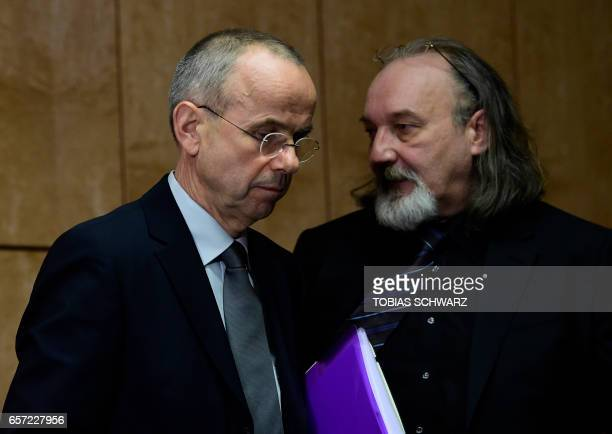 Guenter Lubitz father of Andreas Lubitz a copilot who crashed the Germanwings flight two years ago killing 150 people in the French Alps and...