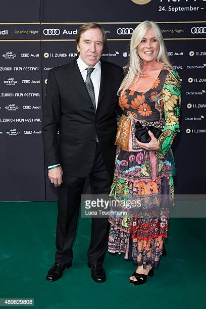 Guenter Netzer and Elvira Netzer attend the Zurich Film Festival on September 24 2015 in Zurich Switzerland The 11th Zurich Film Festival will take...