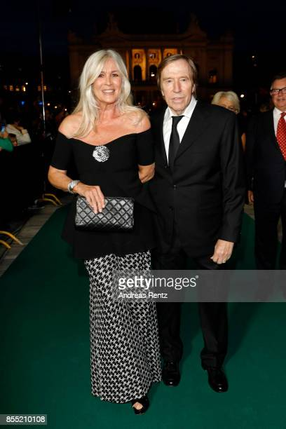 Guenter Netzer and his wife Elvira Lang Netzer attend the opening ceremony and 'Borg vs McEnroe' premiere at the 13th Zurich Film Festival on...