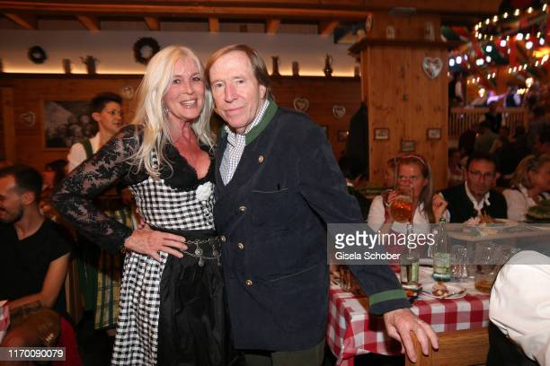 Guenter Netzer and his wife Elvira Lang Netzer during the Oktoberfest 2019 opening at Theresienwiese on September 21 2019 in Munich Germany