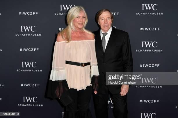 Guenter Netzer and his wife Elvira Netzer attend the IWC 'For the Love of Cinema' Gala Dinner at AURA Zurich on 30 September 2017 in Zurich...